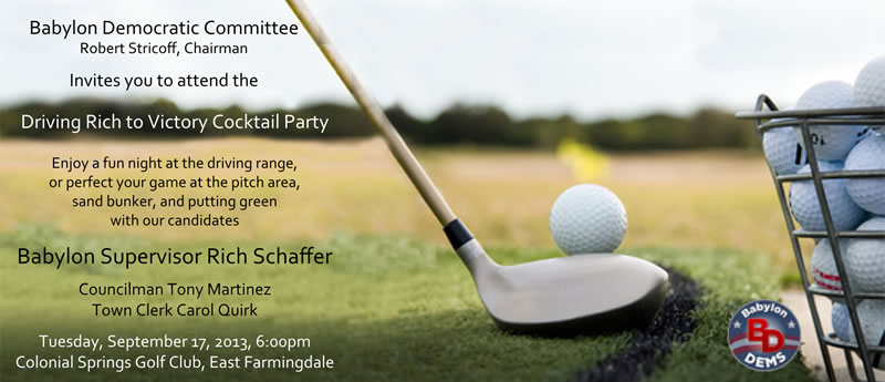 Golf Outing invitation