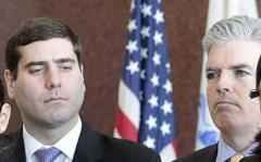 Tim Sini with Suffolk County Executive Steve Bellone